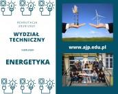 Energetyka - studia inżynierskie w AJP