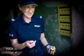 Policjanci pomagają chorej dwuletniej  Zuzia