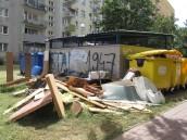 Wysypisko odpadów na gorzowskim Manhattanie
