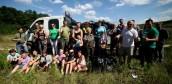Myśliwi i mieszkańcy Kłodawy sprzątnęli las