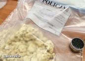 Pół kilograma amfetaminy ukryte w aucie