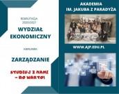 Studiuj zarządzanie w AJP