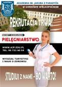Pielęgniarstwo – ruszyła elektroniczna rekrutacja