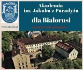 AJP zaprasza Białorusinów na bezpłatne studia