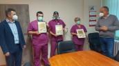 Zarząd szpitala dziękuje pracownikom