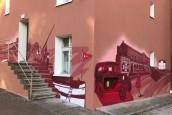 Coraz więcej murali i coraz piękniej na osiedlu