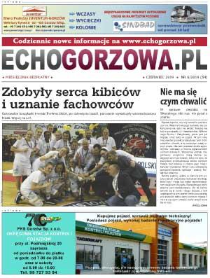 ECHO Gorzowa, czerwiec 2019