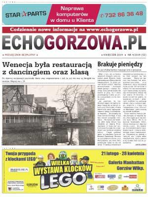 ECHO Gorzowa, kwiecień 2019