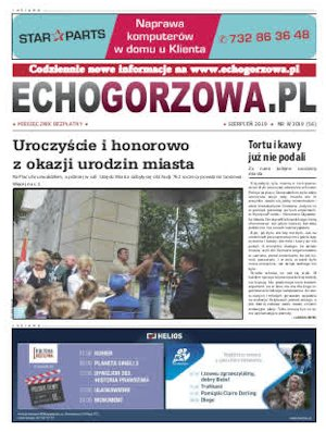 ECHO Gorzowa, sierpień 2019