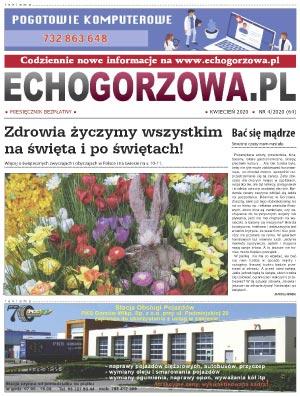 ECHO Gorzowa, kwiecień 2020