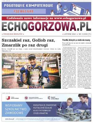 ECHO Gorzowa, listopad 2020