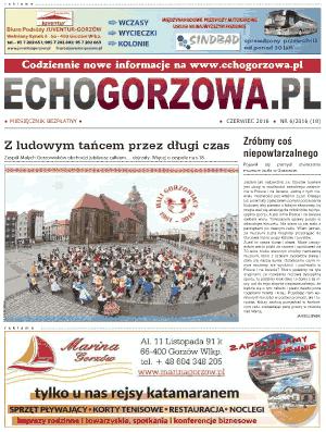 ECHO Gorzowa, czerwiec 2016