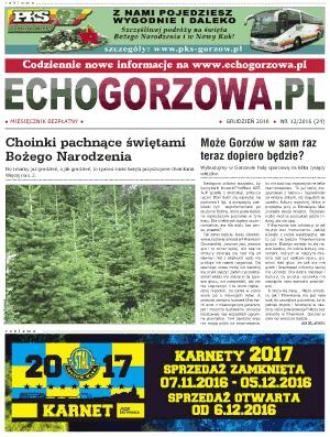 ECHO Gorzowa, grudzien 2016