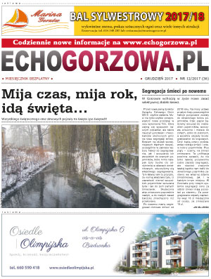 ECHO Gorzowa, grudzień 2017