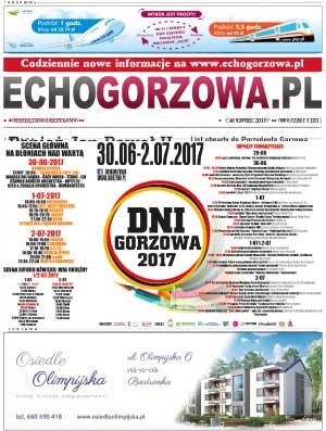 ECHO Gorzowa, lipiec 2017
