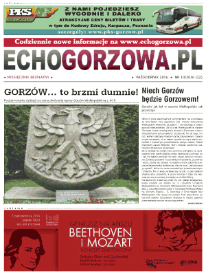 ECHO Gorzowa, październik 2016