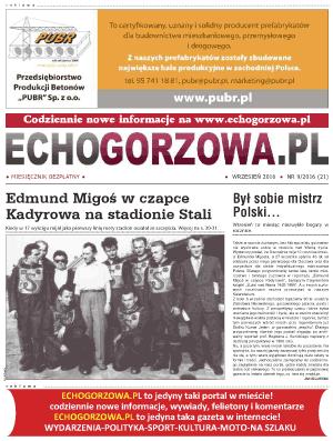 ECHO Gorzowa, wrzesien 2016