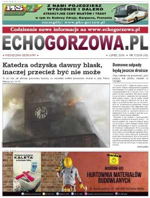 ECHO Gorzowa, lipiec 2018