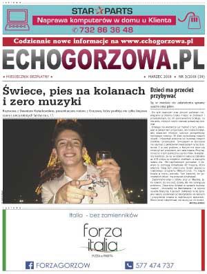 ECHO Gorzowa, marzec 2018