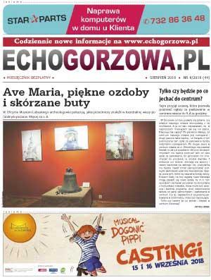 ECHO Gorzowa, sierpień 2018