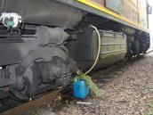 Kradli na stacji paliwo z lokomotywy