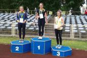 Medale młodych lekkoatletów w Zielonej Górze