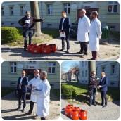 Płyn do dezynfekcji dla szpitala w Drezdenku