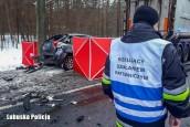 Dramat na drodze. Zginęły dwie osoby