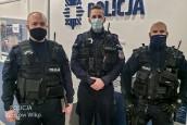 Gaz w mieszkaniu, szybka akcja policjantów