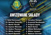 Składy na mecz Stali Gorzów i Motoru Lublin