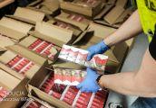 Zatrzymany z transportem nielegalnych papierosów