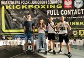 Świetny występ kickbokserów w mistrzostwach Polski