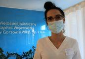 Przyszłe pielęgniarki na praktykach zawodowych