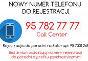Nowy numer do szpitalnej rejestracji