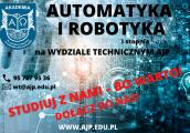 Automatyka i robotyka - rozwija pasję i zainteresowania
