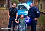 Policjanci spełnili marzenie niepełnosprawnej Karoliny